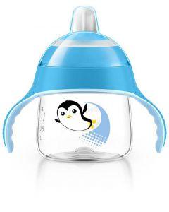 Philips AVENT Sip No Drip 200 ml - blå