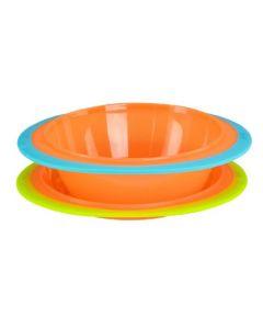 Fisher Price Bowl & Plate sett