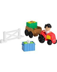 Fisher Price Little People traktor og trailer