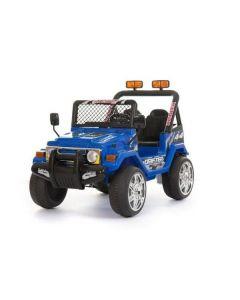 Azeno blå Buffalo 12V - elbil for barn - 2 personer