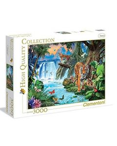 Clementoni high quality collection Tiger family - 3000 brikker
