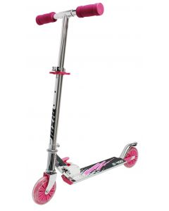 Sparkesykkel med ABEC hjul - rosa