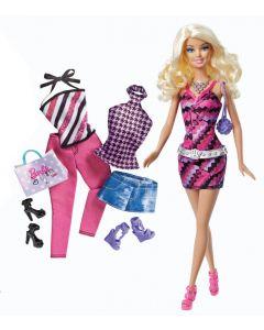 Barbie Blond dukke og klær