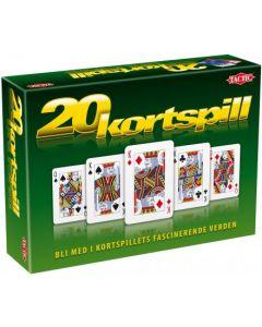 20 kortspill