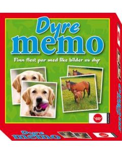 Dyrememo - norske dyr