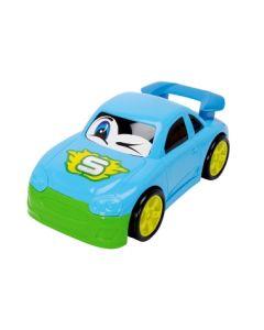 Dickie Toys plastbiler blå - 27 cm