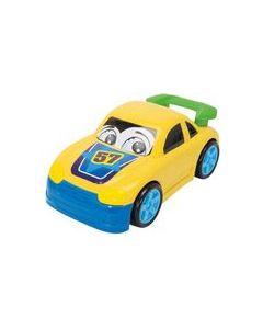 Dickie Toys plastbiler gul - 27 cm
