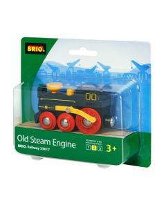 BRIO sort damplokomotiv
