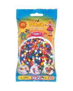 Hama Midi 1000 perler flerfarget midi