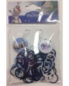 Disney Frozen Olaf & Sven loom bands