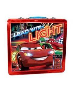 Disney Cars tinnkoffert med skrive- og malesaker