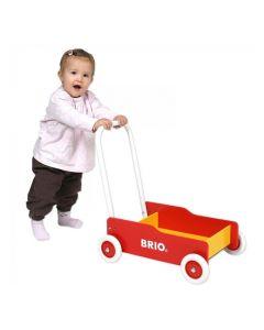 BRIO - klassisk lær-å-gå vogn - 31350