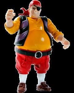 Kaptein Sabeltann Pelle Figur