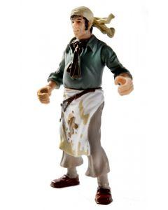 Kaptein Sabeltann Skalken figur - 11 cm