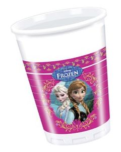 Disney Frozen plastkrus 8 stk - 2 dl