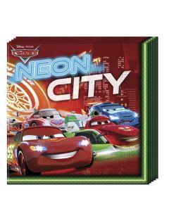 Disney Cars Servietter - 33 x 33 cm