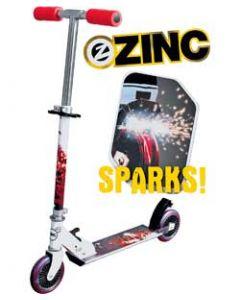 Zinc Fuze - sparkesykkel som slår gnister