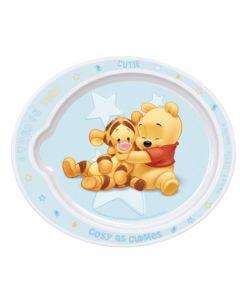 Disney Ole Brumm Babytallerken Blå