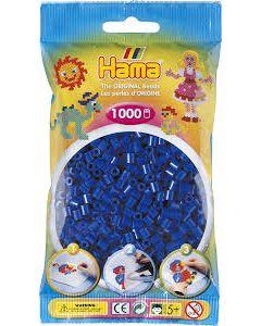Hama Midi 1000 perler Marineblå