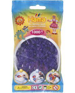 Hama Midi 1000 perler Klar lilla