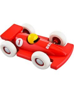 BRIO Racerbil rød
