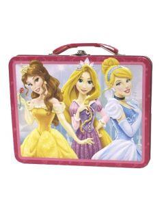 Disney Princess matboks i metall - Mørkerosa