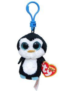 Ty Waddles pingvin - clip 13 cm