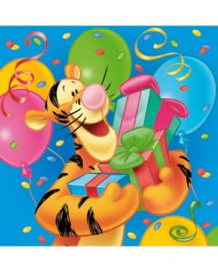 Disney Ole Brumm Servietter  - 33 x 33 cm