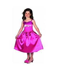 Barbie Prinsesse og Popstjerne kostyme 104cm