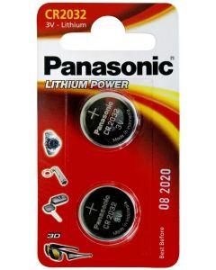 Panasonic 3V Lithium batterier 2-pakning