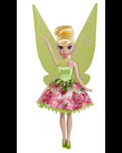 Disney Fairies Pixie Print Tink dukke - 23cm