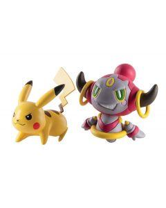Pokemon battle figures - Pikachu vs Hoopa Confined