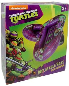 Teenage Mutant Ninja Turtles oppblåsbar gummibåt