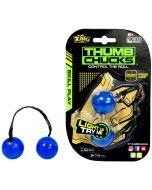 Thumb Chucks - den nye, kule ferdighetsleken! - Blå