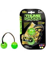 Thumb Chucks - den nye, kule ferdighetsleken! - Grønn