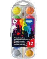 Kärnan Malekatt metallic - 12 fargers maleskrin