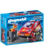 Playmobil City Action Brannmann med bil 9235