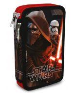 Star Wars dobbelt pennal - med innhold