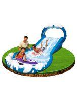Intex oppblåsbar vannsklie Surf 'n Slide