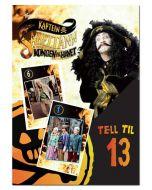 Kaptein Sabeltann kortspill - Tell til 13