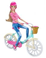 Barbie Beach On the Go - Sykkel