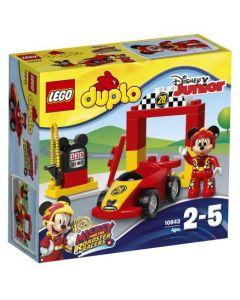 LEGO DUPLO Disney TM Mikkes racerbil 10843