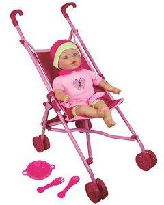 Lissi paraplytrille med babydukke 41 cm