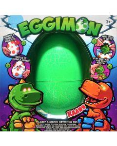 Eggimon - klekk din egen dinosaur - grønn