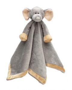 Teddykompaniet Diinglisar Wild sutteklut 35 x 35 cm - elefant
