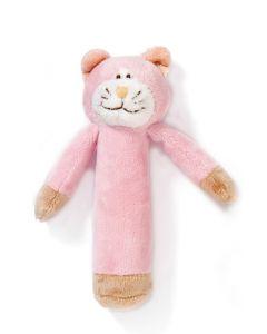 Teddykompaniet Diinglisar rangle 15 cm - katt