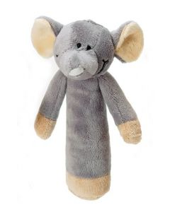 Teddykompaniet Diinglisar rangle 15 cm - elefant
