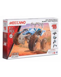 Meccano 15 Models set - Off road rally