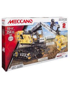 Meccano 2-in-1 Model set - Excavator and bulldozer