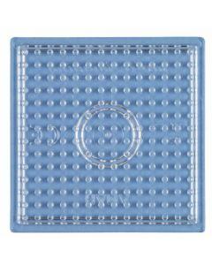 Hama Midi perlebrett - liten gjennomsiktig firkant